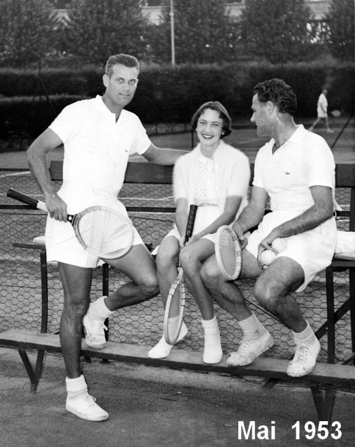 """De l""""élégance au Tennis Club de Lyon"""