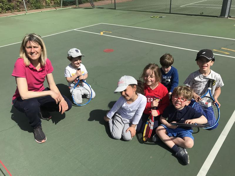 Stage mini-tennis après-midi
