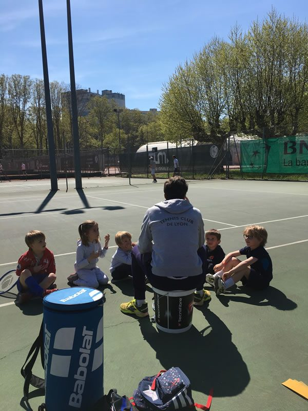 Stage mini-tennis matin