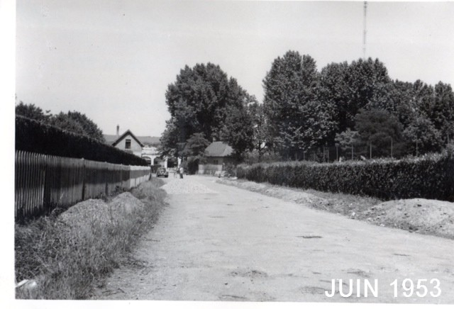 L'entrée du Tennis Club de Lyon en 1953