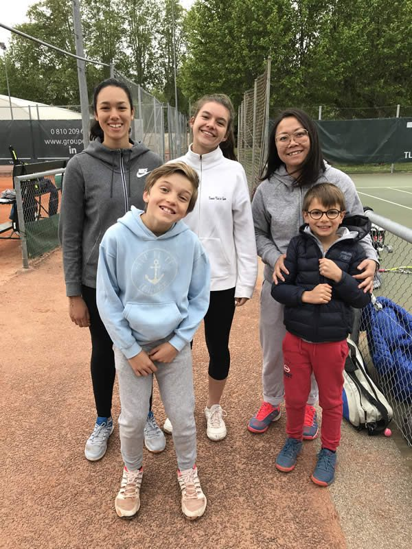 Journée des équipes du Tennis Club de Lyon