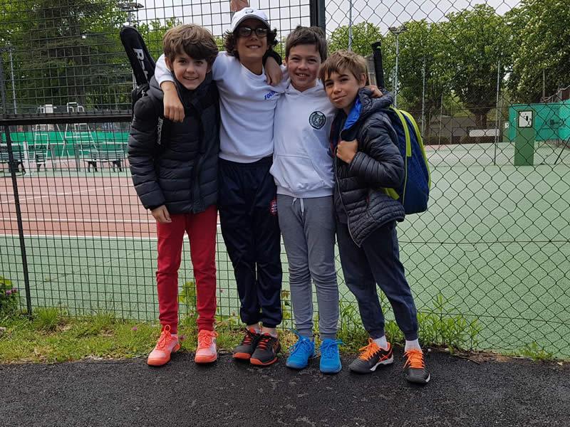 Equipe 3 s'incline 2/1 contre Rhodia Vaise (Oscar, Noan, Emile et Antoine)