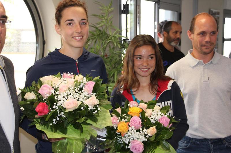 Polina (à droite) s'incline en finale du tournoi de Genas