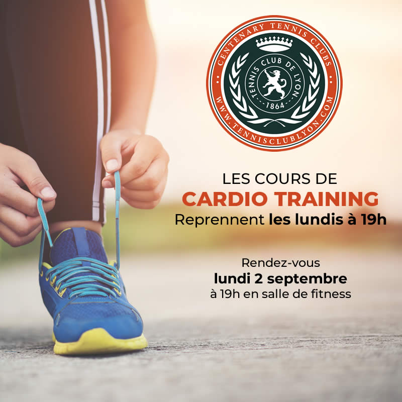 cardio training le 2 septembre