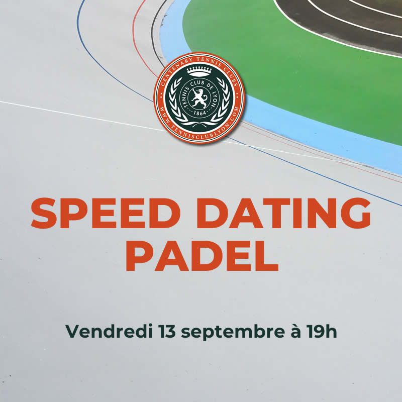 SPEED DATING PADEL
