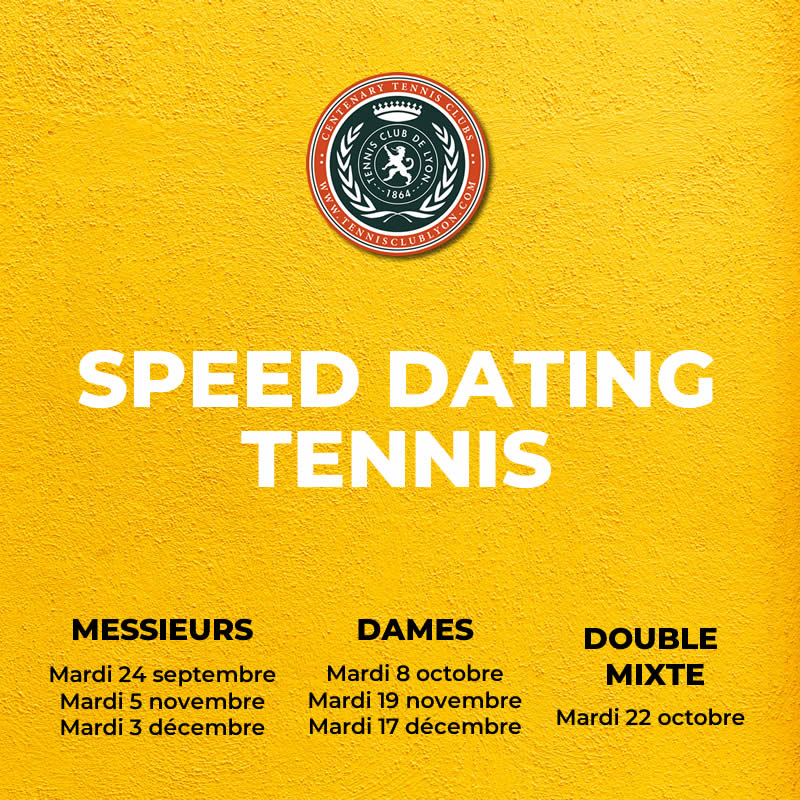 SPEED DATING TENNIS