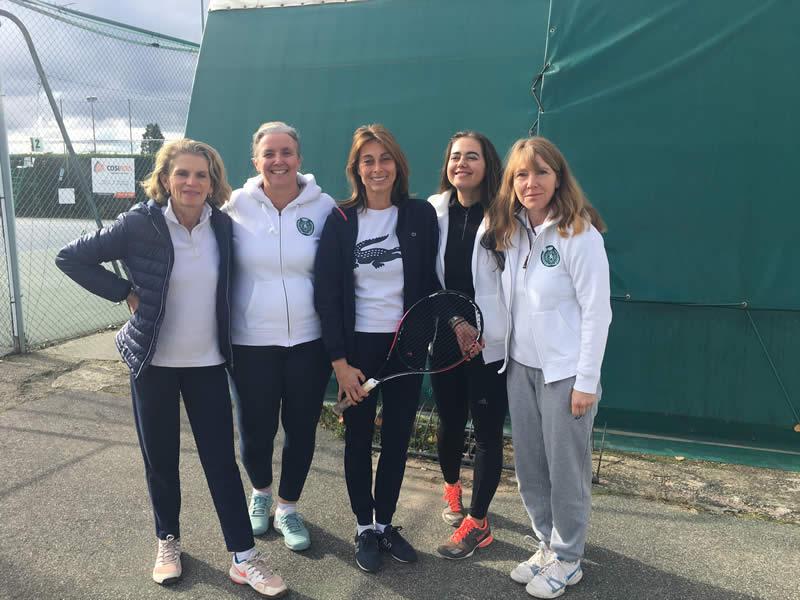 Sophie, Sandrine, Sarah, Isabelle et Caroline
