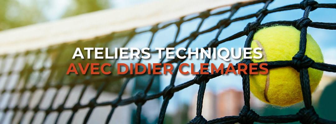 Atelier technique avec Didier Clemares