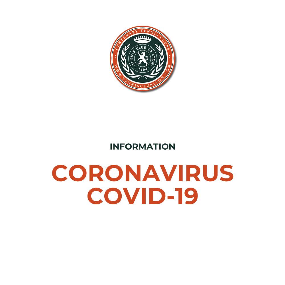 Le coronavirus et le club