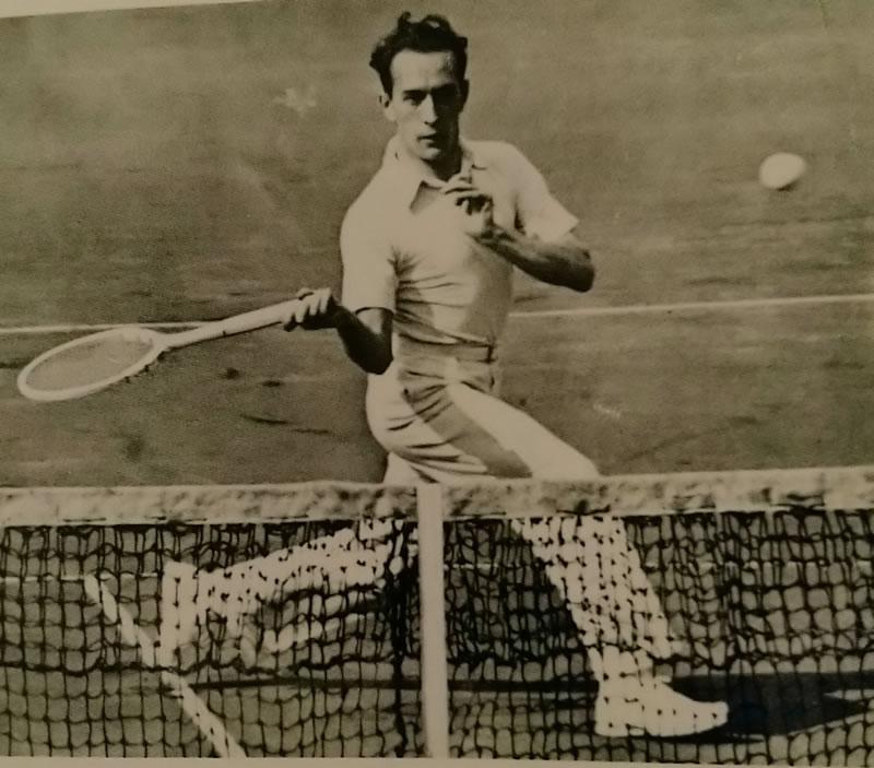 Henri Cochet, une figure de proue du Tennis Club de Lyon