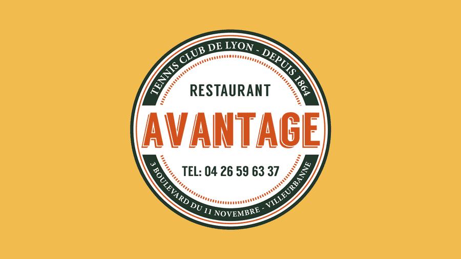 logo restaurant avantage