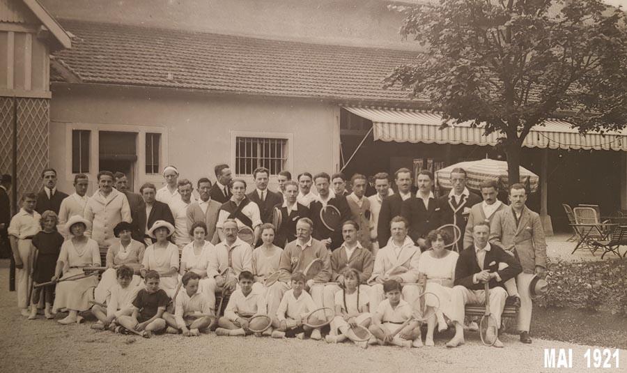 quelques enfants en 1921