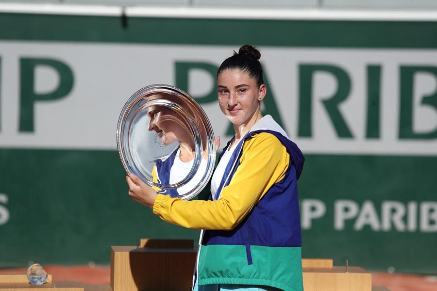 Elsa Jacquemot remporte Roland Garros Junior
