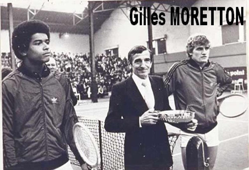 Gilles Moretton et Yannick Noah