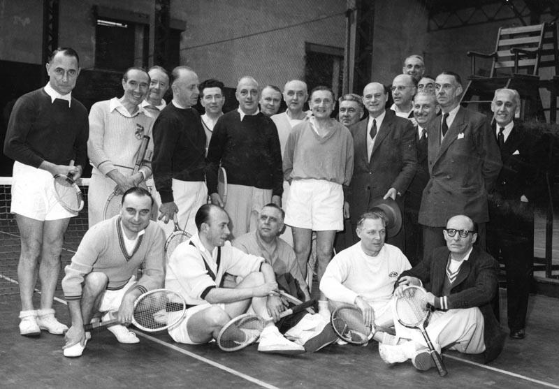 Le club dans les années 50…