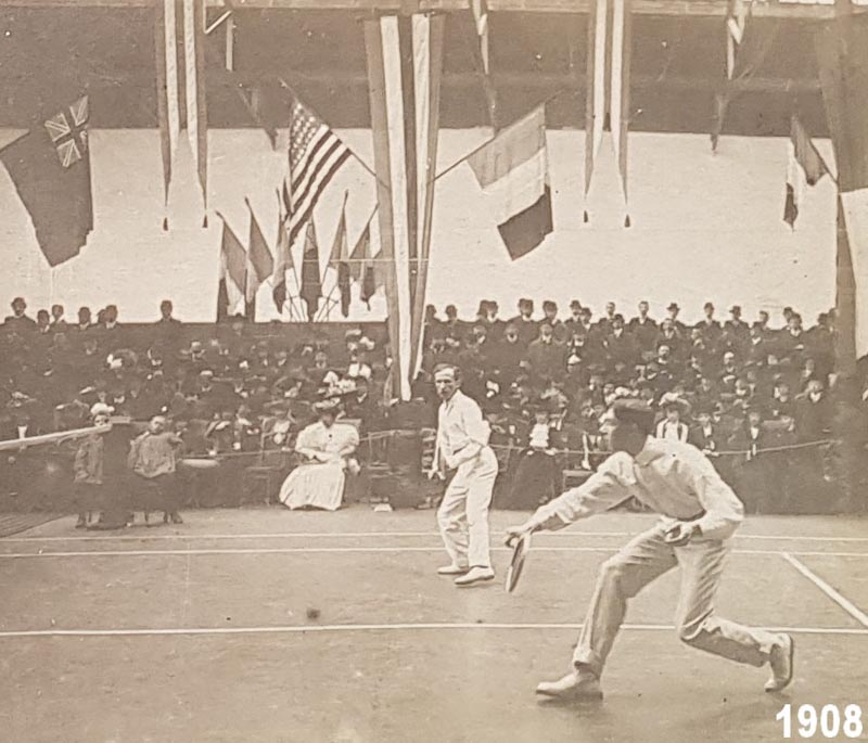 Tennis Club de Lyon en 1908