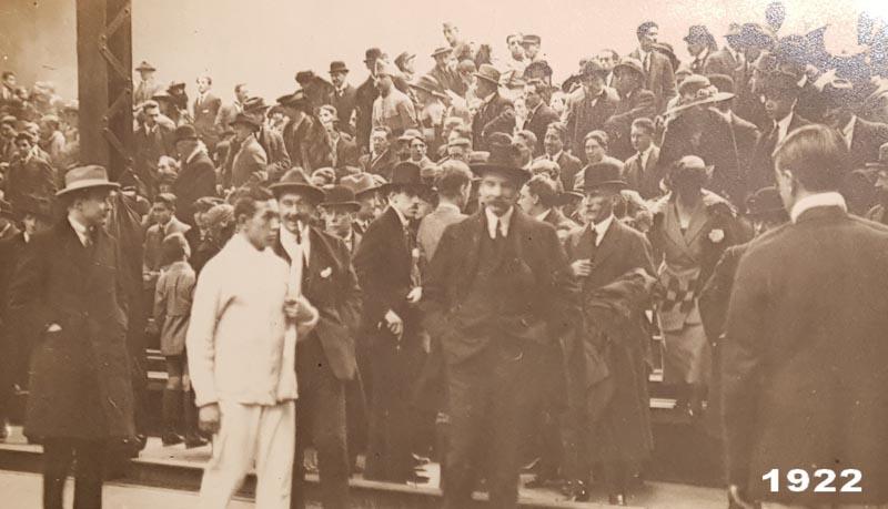 Tennis Club de Lyon en 1922 toujours