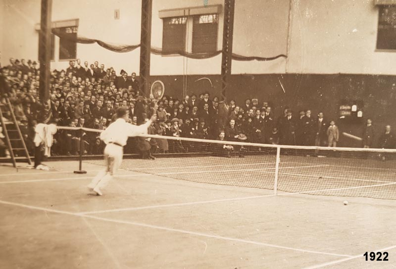 Tennis Club de Lyon en 1922