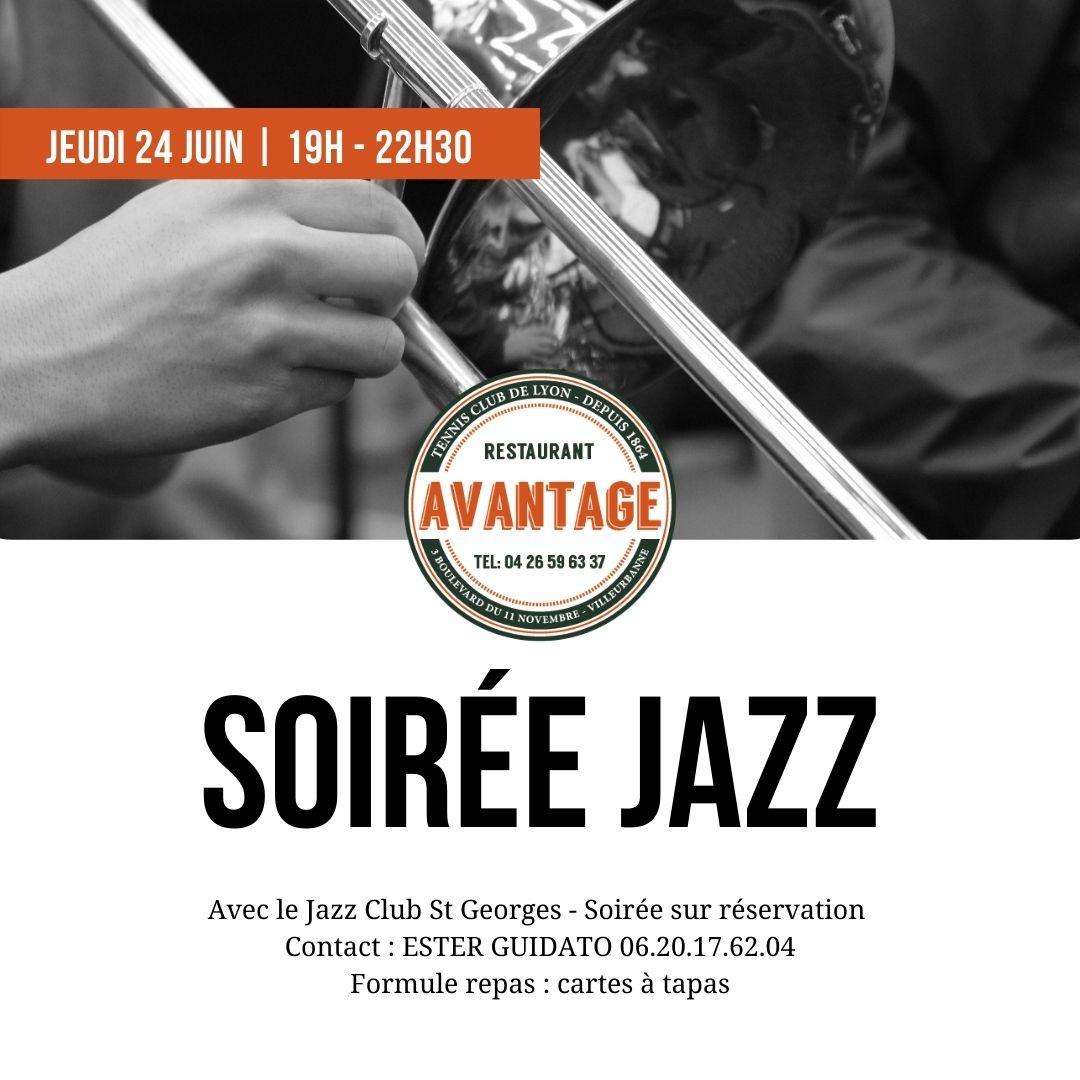 Soirée Jazz jeudi 24 juin